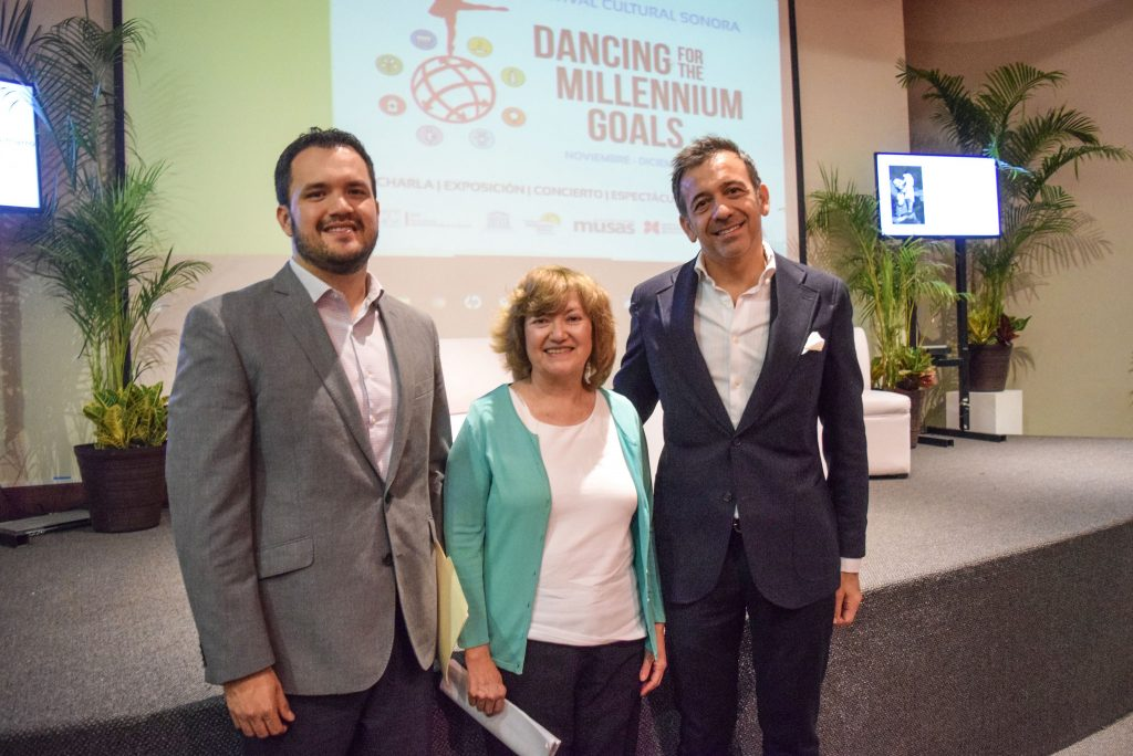 Anuncian Festival cultural Dancing For The Millennium Goals